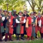 Mitglieder der Cohors Burana